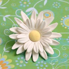 Double Petal Gum Paste Daisy
