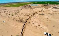 Scientists in Mexico are puzzling over a giant fissure that has split the ground in the northern part of the country.  The crack, which runs for nearly two-thirds of a mile, measures close to 30 feet deep and is just more than 15 feet across at its widest spot. Locals found the geographical oddity Tuesday night when it split a rural road in half 50 miles west of the city of Hermosillo in the Mexican state of Sonora, according to Excelsior, a Spanish-language news source.