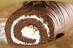 De Tudo Um Pouco : Rocambole de Chocolate prestígio