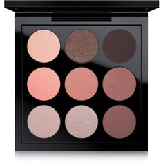 Mac Eye Shadow x 9 Dusky Rose found on Polyvore featuring beauty products, makeup, eye makeup, eyeshadow, eyes, beauty, dusky rose, mac cosmetics eyeshadow, mac cosmetics and palette eyeshadow