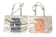 She Wolf Bakery Tote Bag