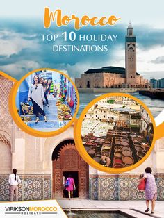 There's a long list of exotic destinations in Morocco but we've extracted the Top 10 destinations to visit in Morocco Top 10 Holiday Destinations, Travel Destinations, Morocco Travel, Cheap Travel, Solo Travel, Family Travel, Exotic, Vacation, Activities