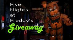 GIZORAMA Giveaway: Five Nights At Freddy's - http://www.gizorama.com/2015/giveaway/gizorama-giveaway-five-nights-at-freddys