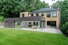 Contemporary Extensions London Richmond House