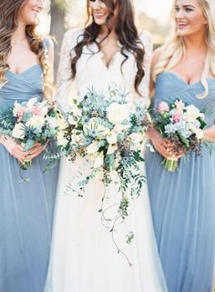 Traditional Blue and Gold New Orleans Wedding Inspiration