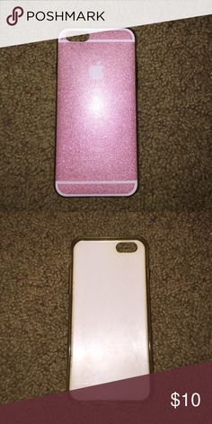 iphone 6 case pink sparkly iphone 6 case Brandy Melville Accessories Phone Cases