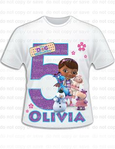 DOC MCSTUFFINS Inspired Iron On Doc by BarefootandGiggle on Etsy