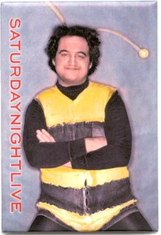 John Belushi -- as King Bee, he became even more famous as one of the Blues Brothers. Hooray For Hollywood, Hollywood Stars, Classic Hollywood, Cultura Pop, Best Of Snl, Snl Characters, Snl Saturday Night Live, The Blues Brothers, Man Humor
