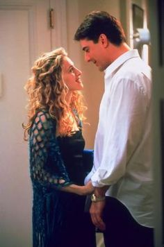 I miss the old Sex and the City...When Carrie had scrunched hair and smoked. And Mr. Big was always unavailable!