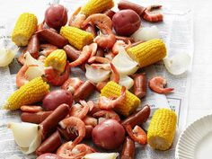 Low-Country Boil, Tricia Yearwoods recipe! Big hit at last night's ...