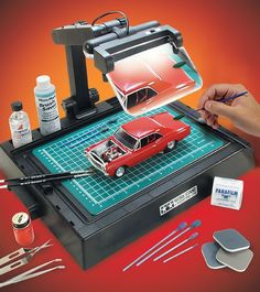 Hobby Work Station for Modelers and Craft Work More