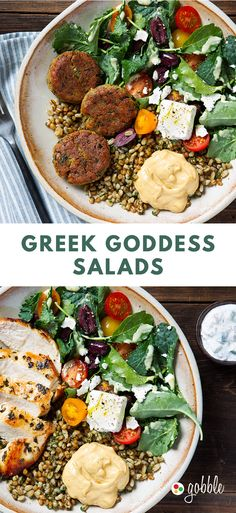 Gobble | Greek Goddess Salads | Dinner in 15 Minutes | Dinner For Two | Quick and Easy Recipes | New Recipes To Try | Cook At Home | Food Delivery Services | Healthy Meals Made With Fresh Ingredients | What To Have For Dinner | Dinner Recipes And Ideas | Easy Dinner Recipes | Gourmet Meals | $50 OFF