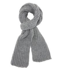 Charlotte Russe Oblong Knit Scarf ($3.99) ❤ liked on Polyvore featuring accessories, scarves, light gray, long shawl, woven scarves, charlotte russe scarves, charlotte russe and long scarves