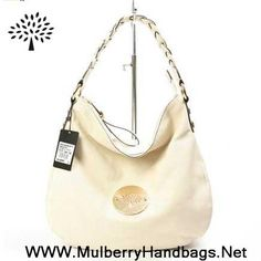 MK 2014 Womens Mulberry Daria Leather Shoulder Bag Beige Fast Shipping