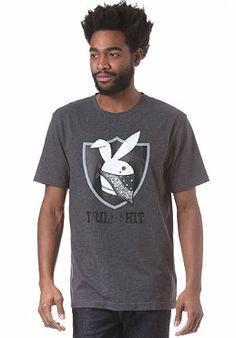 CAYLER & SONS Trill Shit S/S T-Shirt dark grey heather/black/white
