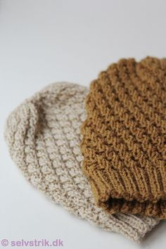 cool and easy knit - http://selvstrik.dk