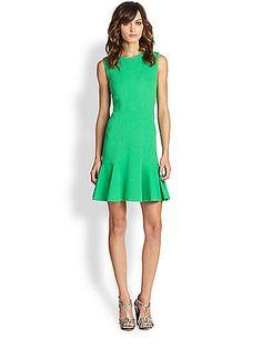 Save on Diane von Furstenberg - Jaelyn Knit Dress - TrackIf