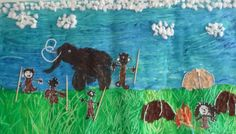 Cro Magnon, Ice Age, Stone Age, Art Plastique, School Projects, Art Education, Art History, American History, Activities For Kids