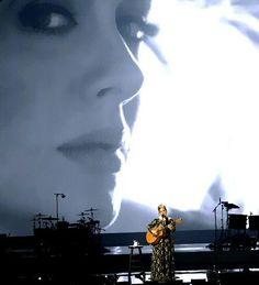 Adele performing at 'Radio City Music Hall'