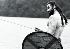 Rollo in #Vikings, played by Clive Standen