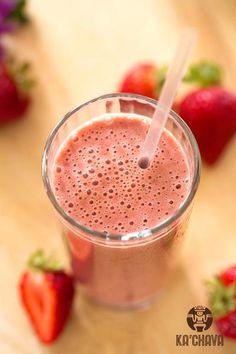 Strawberry Ka'Chava Shake | Ka'Chava