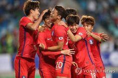 S. Korea beat Nigeria in Olympic football prep tournament