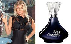 """Fergie tem duas fragrâncias com seu nome, a """"Outspoken"""" e a """"Outspoken Intense"""", ambas da Avon. Perfeitas para quem gosta de cheiros marcantes!"""