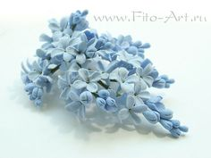 Wedding: A branch of lilac blue - Fito Art