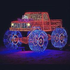 Christmas lights Redneck Christmas