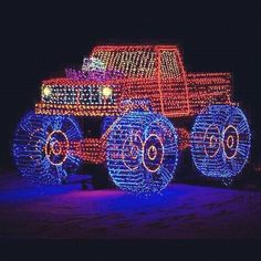 outdoor christmas light display Find out about Santa at: http ...