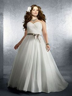 summer outdoor casual wedding dresses for plus size | Plus Sized ...
