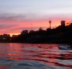 Sunset Sydney Last Light
