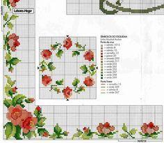 розы схема