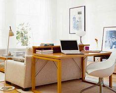 blog de decoração - Arquitrecos: Aparador atrás do sofá - Ampliando as funções do espaço