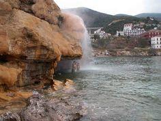 january warm baths of edipsos Photo from Edipsos in Evia | Greece.com