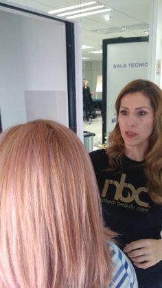 Baño Rosa Colores de nbc con un tono 10.1 + 8cm de 6.66 màs un baño de magenta con Magic System Color Rosa, Magenta, Aurora, Long Hair Styles, Beauty, Hue, Colors, Beleza, Long Hairstyle