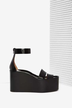 Jeffrey Campbell Rikki Leather Platform - Platforms