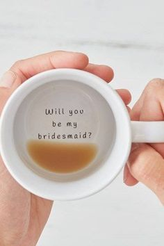 "Creative and Quirky Ways to ask ""Will you be my Bridesmaid?"""