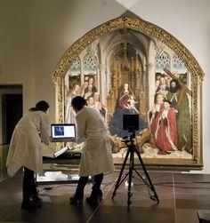 Reflectografía de infrarrojo | Museu Nacional d'Art de Catalunya