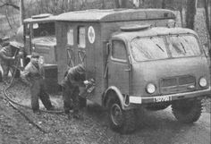 Tatra 2 tonne truck Wwii, Warsaw Pact, Tonne, Ambulance, Military Vehicles, Techno, Automobile, Track, Design