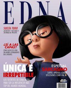 I love Edna❤ Disney Pixar, Walt Disney, Disney Marvel, Cute Disney, Disney And Dreamworks, Disney Cartoons, Disney Magic, Disney Art, Disney Movies