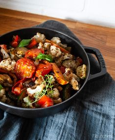 Bunte Pfanne Pot Pasta, Soups And Stews, Paella, Soup Recipes, Cooking, Ethnic Recipes, Sweet, Food, Recipes With Feta
