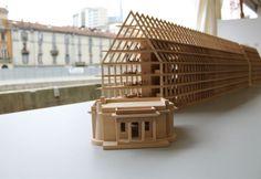 Progetto dello studio Herzog & De Meuron per Feltrinelli Porta Volta Elle Decor, Milan, Italy, House Styles, Models, Studio, Templates, Italia, Study