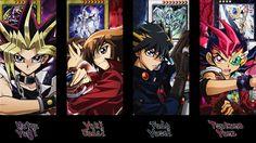 Tags: Yu-Gi-Oh!, Yami Yugi, Yu-Gi-Oh 5Ds, Yu-Gi-Oh! GX, Yusei Fudo, Juudai Yuuki, Yu-Gi-Oh! ZEXAL, Yuma Tsukumo, Yu-Gi-Oh! Duel Monsters