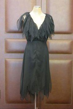 fb1feb90f29e Christian  Dior Robe haute couture en mousseline noire, année 1980, patron  n°14877. Taille 36 38 - Cabinet V.A.E.P. Marie-Françoise Robert -  11 10 2014 ...