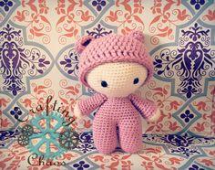 craftingchaosontario:: Another beautiful big head doll heading out the door!  http://etsy.me/1OwrrZa . #craftingchaos #crochet #babyshowergift #mompreneur #amigurumi #crochetdoll #babygift #babydoll #newbornbaby #crochetlove #crochetaddict #singlemom #etsy #ooak #handmade #shoponline #bigheaddolly