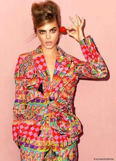 c-a-n-d-y–k-i-s-s-e-s:  Cara Delevingne by Walter Pfeiffer for Vogue UK September 2013