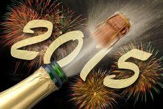 Feliz año 2015 con champaña - Fondo hd #3304.