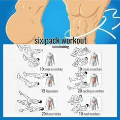 Want Six-Pack Abs? Try These Ab Exercises! Healthy Fitness Train - Yeah We Train ! Tap the link and Check out why all Fitness addicts are going crazy about this new product! Fitness Workouts, At Home Workouts, Workout Tips, Six Pack Abs Workout, Six Pack Abs Men, Workouts For Men, Crunch Workout, Man Workout, Football Workouts