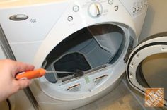Don't forget to clean the lint trap in the dryer! Click through for more practical cleaning tips.